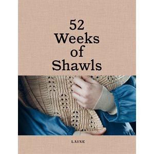 Magazine Laine - 52 Weeks of Shawls - Patrons