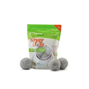 Boules de Séchage / Assouplisant Textile Ecologique - Gris chiné