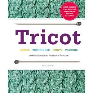 Livre Tricot Laines Techniques Points Patrons